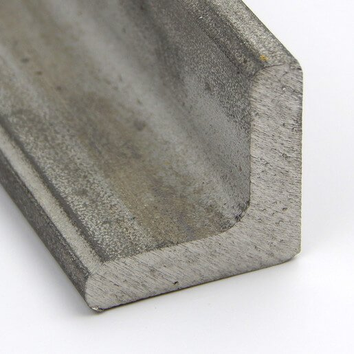 """STAINLESS STEEL ANGLE 1.5/"""" x 1.5/"""" x 1//4/"""" x 12/"""" 304//304L"""