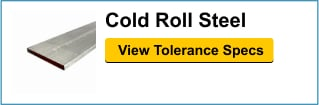 Cold Roll Steel Tolerances