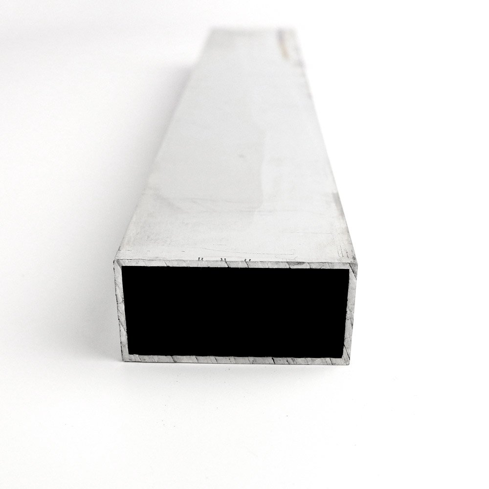 "1 1//2/"" x 2/"" x 1//8/"" Aluminum Rectangular Tube 6061  x 90/"""